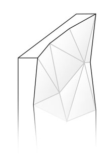 Modelo puerta baño Artica