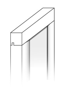 Modelo puerta cocina Enmarcado