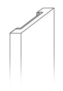 Modelo puerta cocina Tirador Integrado