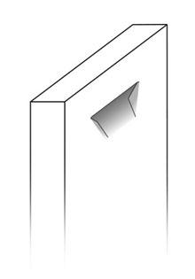 Modelo puerta baño Kala