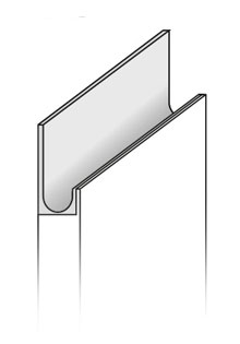 Modelo puerta cocina Tirador Lineal